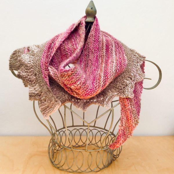 Hand Spun Wool Shawl