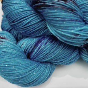 4 Ply fingering merino silk sock