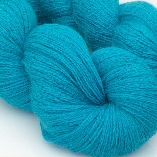 Lacweight alpaca and silk yarn