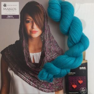 Mothers Day Lace Cowl Knitting Kit