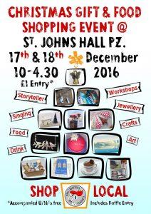 St Johns Hall Penzance Christmas Fair 2016