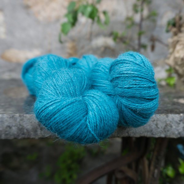 alpaca 4ply yarn superfine turquoise