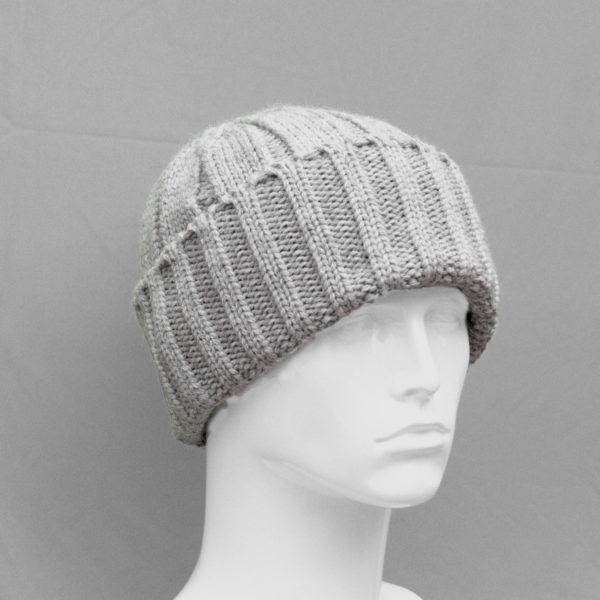 Merino Wool Light Grey Watchcap