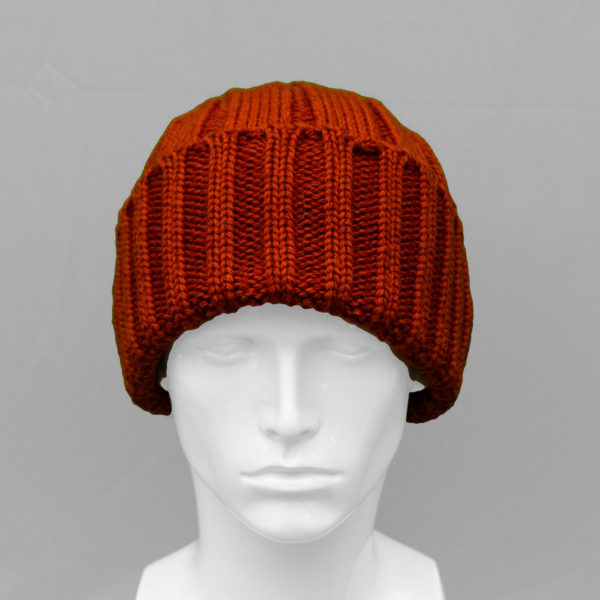 Watchcap Winter Hat Pumpkin Orange