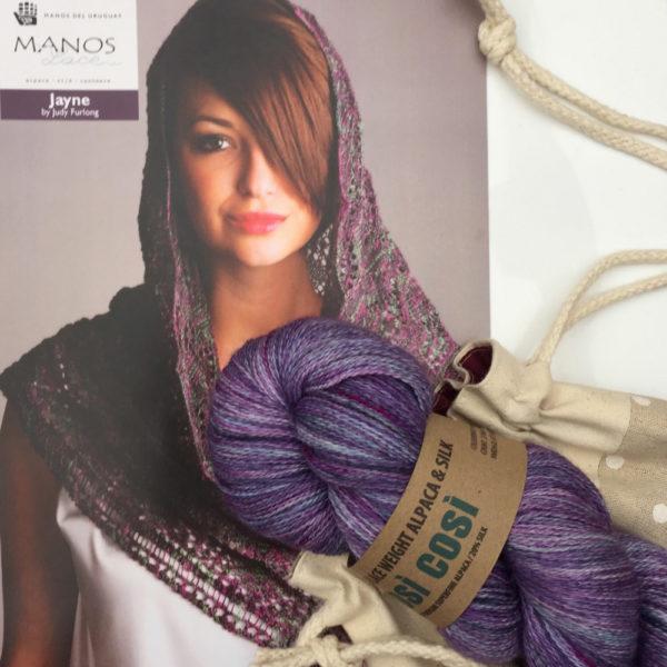 Lacy Shawl Knitting Kit