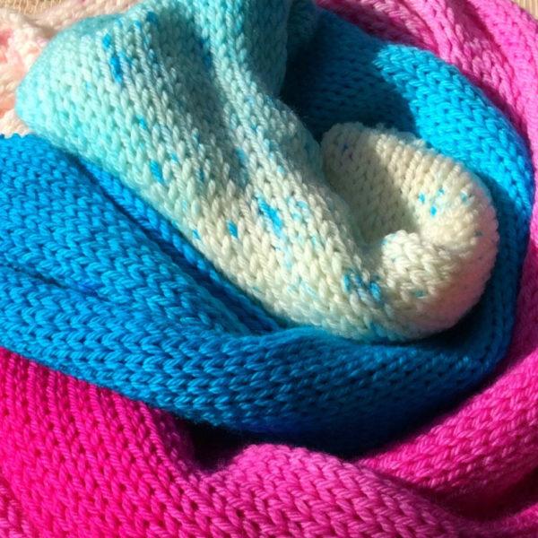 Knitted Sock Blanks